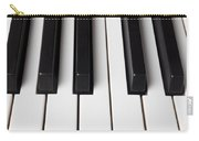 Piano Keys Close Up Carry-all Pouch
