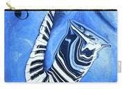 Piano Keys In A Saxophone Blue - Music In Motion Carry-all Pouch