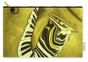 Piano Keys In A  Saxophone Golden - Music In Motion Carry-all Pouch