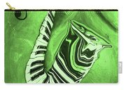 Piano Keys In A  Saxophone Green Music In Motion Carry-all Pouch