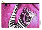 Piano Keys In A Saxophone Hot Pink - Music In Motion Carry-all Pouch