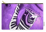 Piano Keys In A Saxophone Purple - Music In Motion Carry-all Pouch