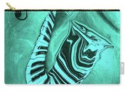 Piano Keys In A  Saxophone Teal Music In Motion Carry-all Pouch