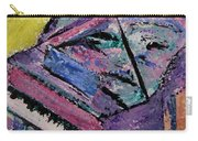 Piano Pink Carry-all Pouch by Anita Burgermeister