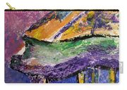 Piano Purple - Cropped Carry-all Pouch