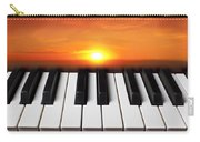 Piano Sunset Carry-all Pouch