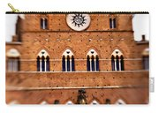 Piazza Del Campo Tuscany Italy Carry-all Pouch