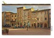 Piazza Della Cisterna Carry-all Pouch