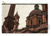 Piazza Navona At Sunset, Rome Carry-all Pouch
