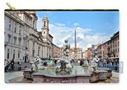 Piazza Navona Panorama Carry-all Pouch