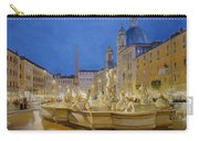 Piazza Navona, Rome Carry-all Pouch