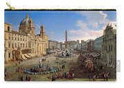 Piazza Novona - Rome Carry-all Pouch