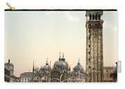 Piazza San Marco, 1890s Carry-all Pouch