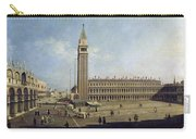 Piazza San Marco Venice  Carry-all Pouch by Canaletto