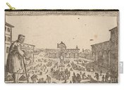 Piazza Ss. Annunziata, Florence Carry-all Pouch