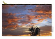 Picacho Peak Sunset II Carry-all Pouch