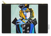 Picasso By Nora  The Queen Carry-all Pouch