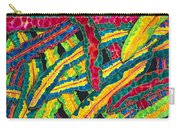 Picasso Paintbrush Croton Carry-all Pouch