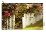 Picket Fence Roses Carry-all Pouch