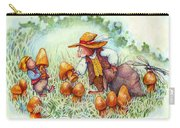 Picking Mushrooms Carry-all Pouch
