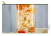 Pickled Vegetables In Clear Glass Jar Carry-all Pouch