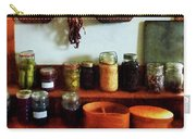 Pickles Beans And Jellies Carry-all Pouch by Susan Savad