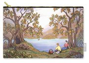 Picnic By A Lake Carry-all Pouch