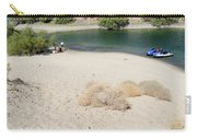 Picnic On Lake Mohave Carry-all Pouch
