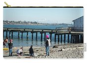 Picnic On Semiahmoo Beach Carry-all Pouch