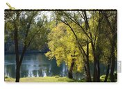 Picnic Spot On Spokane River Carry-all Pouch