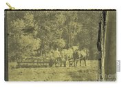 Picture Of Amish Boy In Book Carry-all Pouch