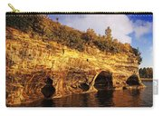 Pictured Rocks Caves Carry-all Pouch