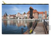 Picturesque City Of Gdansk In Poland Carry-all Pouch