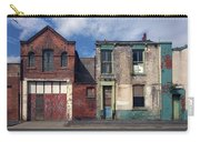 Picturesque Derelict Houses In Hull England Carry-all Pouch