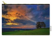 Picturesque Rural Sunset Carry-all Pouch