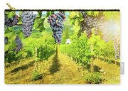 Picturesque Vineyard At Sunset Carry-all Pouch