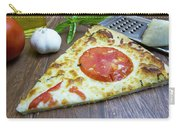 Piece Of Margarita Pizza With Fresh Ingredients Carry-all Pouch