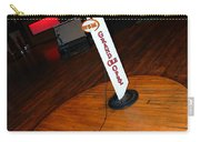 Piece Of The Original Old Stage At The Grand Ole Opry In Nashville Carry-all Pouch by Susanne Van Hulst