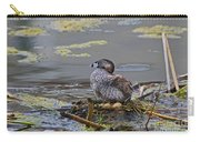 Pied-billed Grebe On Eggs Carry-all Pouch