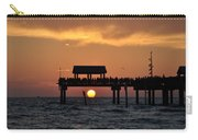 Pier 60 Clearwater Beach - Watching The Sunset Carry-all Pouch