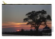 Pier A Long Way Out 5 Carry-all Pouch