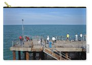 Pier Fishing At Llandudno Carry-all Pouch