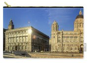 Pier Head Liverpool Panorama 2 Carry-all Pouch