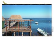 Pier In Champoton, Mexico Carry-all Pouch