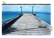 Pier Into The Blue Carry-all Pouch