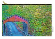 Pierce Stocking Covered Bridge In Sleeping Bear Dunes National Lakeshore-michigan Carry-all Pouch