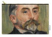 Pierre-auguste Renoir 1841-1919 Portrait Stephane Mallarme Carry-all Pouch