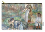 Pierre-auguste Renoir - Washerwomen 1888 Carry-all Pouch