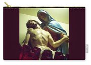 Pieta And The Candles Carry-all Pouch