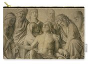Pieta Carry-all Pouch by Giovanni Bellini